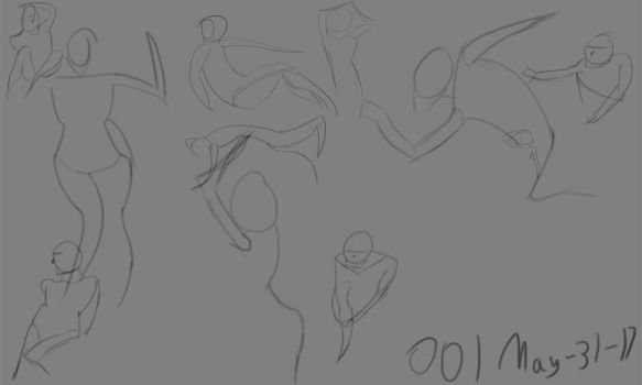 001 May-31-17 Daily Gesture by FallingKnowledge