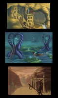 Environment Concepts by RBlakeArt