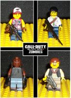 Lego Zombie Cast 2 by weskerchild117