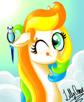 Lilly Cheese Portrait by LillyCheese