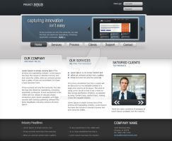 Project Aqua Website Template by jtaylo49