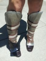 lilith from borderlands cosplay boots by BubblegumGirl22