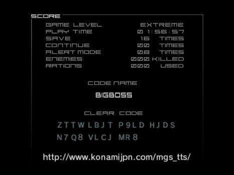 Metal Gear Solid - The Twin Snakes Big Boss Run by WilHiteWarrior