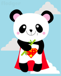 Superpanda by Flodger
