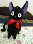 Gift Commission- Amigurumi Jiji by Rainbowbubbles