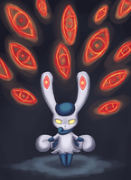 Meowstic Used Future Sight by Rika-of-Thunder