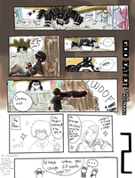 God Eater in a Nutshell 'Redrawn' pg 2 by Gurrenken