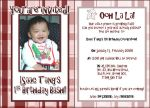 Isaac Bday invite by skate07