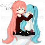 Try to be a girl Miku and Luka by Tokyo-Dollie