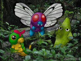 Viridian Forest Bugs by WarBandit