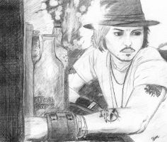 Johnny Depp by SS-AM