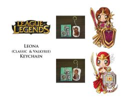 LoL: Leona Keychain by Beautiful-Dreamer602