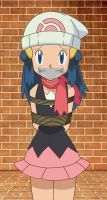 Hikari Tied Up and Gagged 4 by songokussjsannin8000