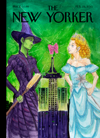 WICKED: new yorker cover by Alethea-sama