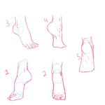 Challenge - Feet #1-5 by Chezzie-Chan