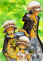 Trafalgar LAW by Captain--Ruffy