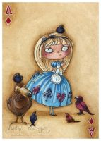 Alice : Ace of Diamonds by maina