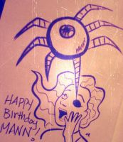 Happy Birthday Mann by ChibiCelina