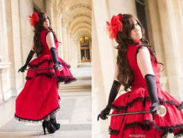 Red Meiko Lovely smile by AngelAngelyss
