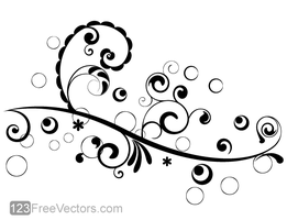 Vector Floral Design 4 by 123freevectors