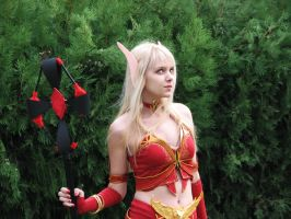 Blood elf 1 by kittyliciousme