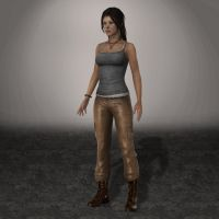 TOMB RAIDER Lara by ArmachamCorp