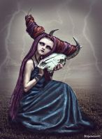 Horned Witch Doll by Brizzolatto55