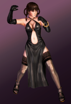 Leifang - Black Dress Chi Ch'uan - 03 by HentaiAhegaoLover