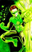 Green Lantern's Light by BlackArachnid
