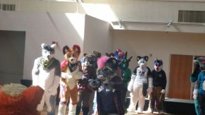 Fursuit Charades pic. 2 by mikeray87