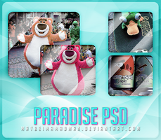 Paradise psd by MaybeImAMadMan