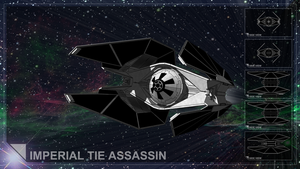 Imperial TIE Assassin by GardHelset