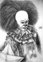 Pennywise the Clown IT by Xpendable
