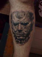 Michael Myers Tattoo by ACrowley