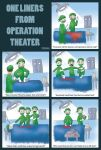 One liners from Operation Theater by madam-lara-croft