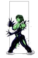 She Hulk commission 48 by Xenomrph