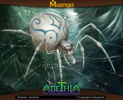 Moonga - Spider by moonga