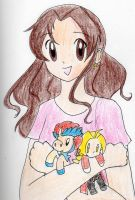 Me and my favorite characters from Vic by Sonicgirl1999