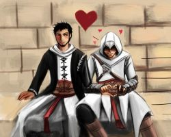 Altair x Malik by GB-girl