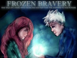FROZEN BRAVERY - TODAY'S THE DAY! POSTER by thisistiffania