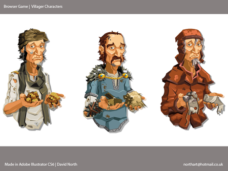 Browser Game Characters by MrNorth