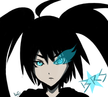 Black Rock Shooter by lp-slash-queen