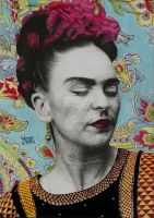 Frida Kahlo by vitorassis88