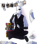 He was a cute nerd back then too by The-NoiseMaker