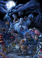 psycho fox by SkyFinch