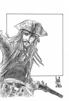 Jack Sparrow by Soul-the-Awkward