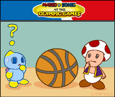 Mario+Sonic - Olympic Games 5 by zimpy222