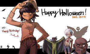 Happy Halloween...Birthday! by A-KAchen