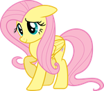 Bashful Fluttershy by uxyd