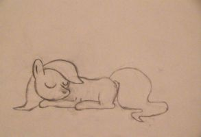 Sleeping pone by MayhemDude